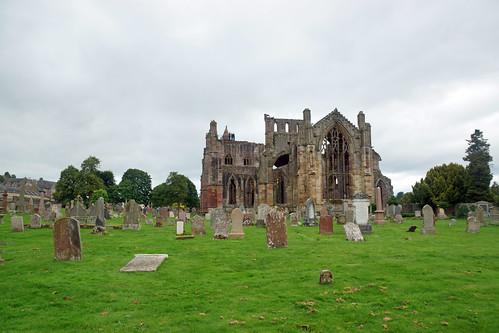 2017-08-26 09-09 Schottland 168 Melrose Abbey