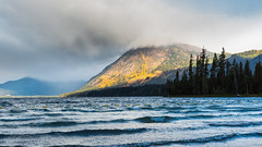Borrowed Time (John Westrock) Tags: nature landscape mountains trees clouds lake storm rain washington pacificnorthwest canoneos5dmarkiii canonef2470mmf28lusm lakewenatchee