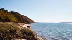 Edge of Empire Beach (Thomas DB) Tags: empirebeach empire lakemichigan michigan sleepingbeardunes plattebay water lake beach sand dunes dunegrass