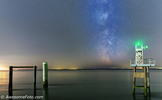 Milky Way with Lighthouse (3)