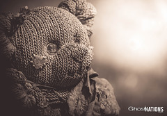 The inheritors Of Misery (Ghost Of Nations Photography And Digital Art) Tags: ghostofnationsphotography ghostofnations liminal dark sorrowful teddy cemetery mementomori