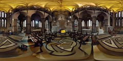 A 360° pano of the interior of Worcester cathedral. (CarolAnn Photos) Tags: 360panorama lgenexus5x cameraphone october2017 apictureadayforamonth amonthin31pictures gradeilistedbuilding interior