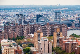 Williamsburg Bridge over the East River, Manhattan-Brooklyn, New York City