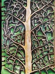 A leafy kind of page  #art #artist #arty #mixedmedia #softpastel #pen #ink #colour #waterpaint #leaf #green #art #artmedia #drawing #journal (nadianel1) Tags: colour journal ink waterpaint artmedia artist green pen leaf drawing art arty softpastel mixedmedia