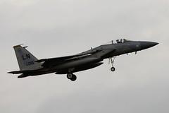 DSC_0279 (sauliusjulius) Tags: mcdonnell eagle f15 ae1ccc us air force usaf bap baltic policing quick reaction alert qra lithuania siauliai sqq eysa 14r united states 840015 douglas f15c sn 925 c318