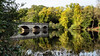 Five Arch Bridge (jameslf) Tags: autumn cascade great lake park surrey trees virginiawater waterfall windsor