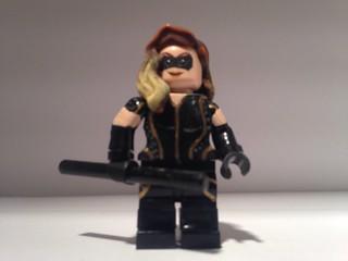 Custom Lego Black Canary