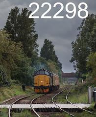 robfrance5d2_22298_050917_x37219_bare_lane_morecambe_1q83_col_nr_edr16lr6pse15weblowres (RF_1) Tags: 12csvt 2017 37 37219 barelane boulogne britain british brushtraction class37 colas colasrailfreight diesel ee england englishelectric freight haulage hauling infrastructuremonitoring lancashire loco locomotive locomotives locos morecambe networkrail rail railfreight railroad rails railway railways testtrain train trains transport uk unitedkingdom