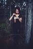 (Bruna M l Fotografia) Tags: forest barragem do arroio duro lamp girl dark
