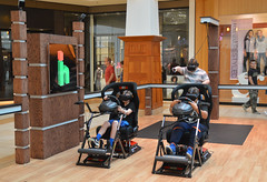 Directing the charge (radargeek) Tags: norman ok oklahoma soonermall immersionhouse activevr virtualreality mall