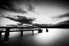 Sunrise Pier | October 2017 (pklopper) Tags: black white sea pier 14mm nikon d800 petrus klopper vancouver island ngc fantastic nature 1