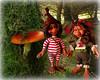 Pixie couple Jinx and Trixie (Livdollcity) Tags: paradise galleries pixie pixies jinx trixie fairy fairies resin doll dolls tonner theodora amber ooak scene