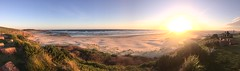 Sunset panorama (Simon_sees) Tags: relaxing relax rest travel vacation holiday cloud sky sand ocean summer sunset beach