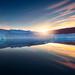 Iceberg Sunrise (hpd-fotografy) Tags: arctic greenland scandinavia scoresbysund bluehour clouds cold cruise dramatic goldenhour ice iceberg landscape light north sailing sea seascape sunset water weather sunrise
