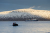 Zodiac-1 (ashokboghani) Tags: baffinisland canada nunavut arctic zodiac ship evening mountain snow boat sea