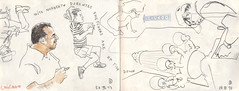 170728chicago04 (Vincent Desplanche) Tags: symposium urbansketchers usk uskchicago2017 correspondent sketch sketching sketchbook chicago usa croquis