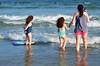 Margaret And The Twins In The Ocean (Joe Shlabotnik) Tags: july2017 higginsbeach boogieboard 2017 maine margaret carolina gabriella ocean beach afsdxvrnikkor55300mm4556ged