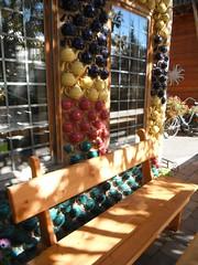 Saskatoon Berry Farm Autumn 2017 129 (Mr. Happy Face - Peace :)) Tags: yyc bench gardening albertabound cans2s autumn fall art2017 hbm hww