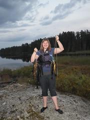 18-08-2017 Huronian - 33 (s.kosoris) Tags: skosoris pentaxoptiowg1 wg1 pentax huronian camp camping me walleye pickerel fish