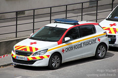 Croix-Rouge | Peugeot 508 SW (spottingweb) Tags: spotting spotted spotter spottingweb véhicule vehicle france car voiture association secourisme secouriste premierssecours sécuritécivile équipier postedesecours firstaid civilsecurity ambulance lifeguard victime dps sécurité secours urgence intervention gyrophare croixrouge peugeot 508 sw break vl