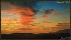 Tramonto rosso di Ottobre - 2017 (agostinodascoli) Tags: tramonto landscape texture nikon nikkor cianciana sicilia agostinodascoli nature cielo nuvole paesaggi sunset rosso sky
