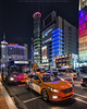 Taxi (mikemikecat) Tags: dongdaemun nightscapes house mikemikecat architecture stacked building colorful housing pattern 抽象 建築 建築物 城市 天際線 戶外 block cityscapes street nightview night 夜景 香港 路 evening 建築大樓 twilight nightscape 建築結構 基礎建設 market village laowa 75mm olympusomd 人 neonlights neon neonsign car seoul korea 韓國