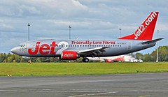 G-CELO JET2 BOEING 737 NEWCASTLE (toowoomba surfer) Tags: airline airliner aviation aircraft jet aeroplane ncl egnt
