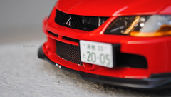 DSC_0699_RA (l3l4l1l0) Tags: ralliart sedan 4g63t mitsubishi lancer evolution ix evo9 agu resin miniature jdm japanese