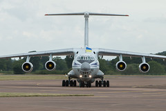 Ukrainian Air Force Ilyushin Il-76MD Candid taxis in to the static park for RIAT 2017 at RAF Fairford on Thursday 13th July (DaveMorgan1975) Tags: ukrainianairforce ilyushin il76md candid riat2017 raffairford