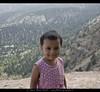 My youngest daughter enjoying the heights... (umasha79) Tags: ziarat plums apples juniper balochistan quetta