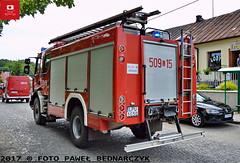 509[L]15 - GBA 2,5/24 Renault Midlum 300/ISS Wawrzaszek - OSP Płonki (Pawel Bednarczyk) Tags: 509l 509l15 lpu lpu1g50 gba renault midlum 300 iss wiss wawrzaszek osp płonki lubelskie puławy puławski kurów wąwolnica pielgrzymka 04062017 engine firedepartment firebrigade wawolnica