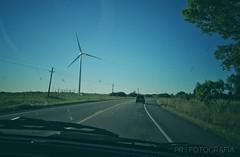 Sin filtro (ojoartificial) Tags: travel viaje landscape paisaje uruguay colonia tarariras greenenergy energía molinos road ruta