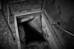 Into the darkness... (Bastian S. Photography) Tags: grave grab sylt germany deutschland black white schwarz und weis nikon d610 vollformat fullframe