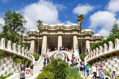 Park Guell - Barcelona (joscelyn_p) Tags: parkguell antonigaudi gaudi barcelona spain espana europe canon lightroom travel traveler traveling photography