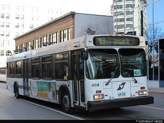 Winnipeg Transit #464 (vb5215's Transportation Gallery) Tags: winnipeg transit 1999 new flyer d40lf