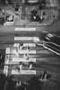 Zebra crossing (mripp) Tags: art vintage retro old zebra crossing zebrastreifen black white mono monochrom street strafe brüssel belgium europe europa mobile mobility urban city stadt above oben