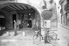 gerone sl350121 (L.la) Tags: gerona gérone girona catalogne espagne espana eu europe europa europeonflickr rollei rolleiflex rolleiflexsl35 sl35 sl35m noiretblanc nb blackandwhite bw argentique film street stphotography 24x36 135 grandangle wideangle urban lc29 fp4 ilfordfp4 ilford scanner epson v600 epsonv600 laurentlopez lla