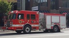 Spare Engine 7 (Central Ohio Emergency Response) Tags: columbus ohio fire division truck engine pumper spartan ferrara