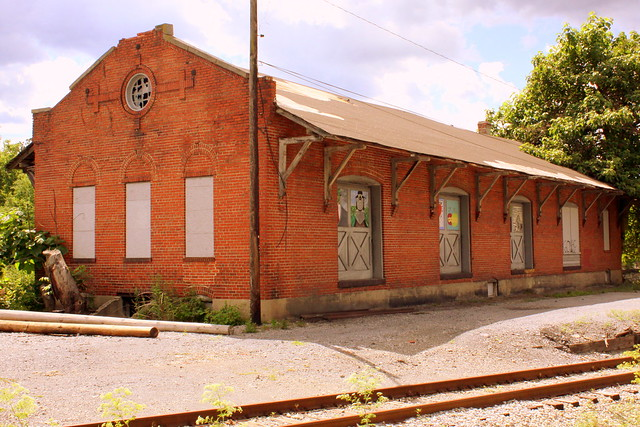 B&O 1881 Freight Depot - Martinsburg, WV