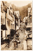 Clovelly - High Street (pepandtim) Tags: postcard old early nostalgia nostalgic clovelly high street valentine real photograph definition image village torridge district devon fishing 1901 cluster wattle daub cottages sides rocky cleft sledge privately owned 86chs99 new inn