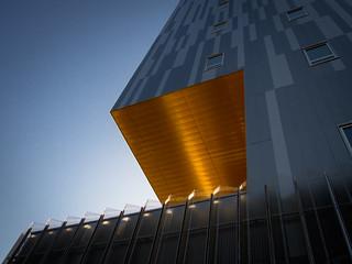 Golden building