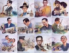 in memoriam (the foreign photographer - ฝรั่งถ่) Tags: king bhumibol adulyadej cremation bangkok thailand sony rx100 collage funeral royalty