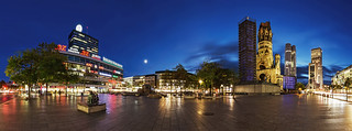 Breitscheidplatz Panorama - Berlin City West