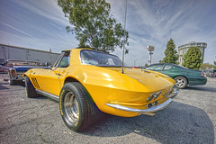 Classic Cruisers @ Spires 2016 (dmentd) Tags: chevrolet corvette