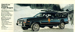 1983 American Motors 4X4 Eagle Station Wagon (coconv) Tags: car cars vintage auto automobile vehicles vehicle autos photo photos photograph photographs automobiles antique picture pictures image images collectible old collectors classic ads ad advertisement postcard post card postcards advertising cards magazine flyer prestige brochure dealer 1983 american motors 4x4 eagle station wagon 84