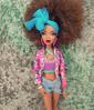 DNTM | Week 7: YOUTHFUL & BRIGHT | Jasmine (Bratzjaderox™) Tags: colorful bright diva queen magical goddess love her this look is hot neon myscene barbie bratz mattel mga mgae