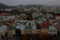 lviv 4b (aurel_grand) Tags: ukraine lviv lwow architecture bâtiments impérial pavé empire panorama view ville édifice europe couleurs colors religion religieux églises