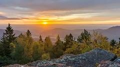 Rocher du coucou (Nu Mero) Tags: coucherdesoleil hdr paysage valléedevillé nature leverdesoleil sunrise sunset neubois grandest france fr