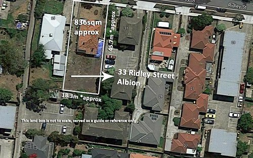 33 Ridley Street, Albion Vic