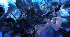 E.V.E Nightmare Replicant (clau.dagger) Tags: eve thenightmare event secondlife horror halloween fantasy art sale flores bento poses locktuft insol maitreya
